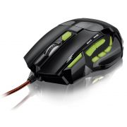 Mouse optico XGAMER  Fire Button USB 2400 DPI MO208 Multilaser