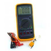 Multimetro Digital C/ Capacimetro DT5808 Rontek
