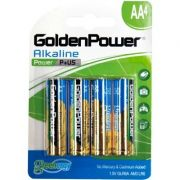 Pilha Alcalina AA GLR6A C/04 UN Golden Power