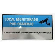 Placa Advertência