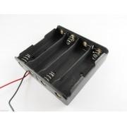 Suporte p/ 04 x Baterias 18650 RTLI18650
