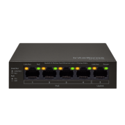 Switch 5 Portas SF 500 Poe Fast C/4 P Poe Intelbras