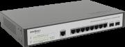 Switch Gerenciável 8P SG 1002 MR L2+ Gigabit+2P MINI-GBIC Intelbras