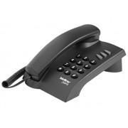 Telefone Pleno C/Chave (Preto) Intelbras