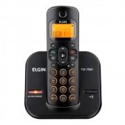 Telefone s/ Fio c/ Identificador, Viva Voz e Teclado Luminoso Preto TSF7500 Elgin