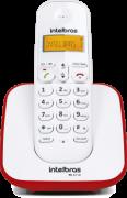 Telefone Sem Fio Ts 3110 (Branco/Vermelho) Intelbras