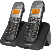 Telefone Sem Fio Ts 5122 (Preto) Intelbras