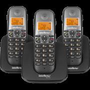 Telefone Sem Fio TS 5123 (Preto) Intelbras