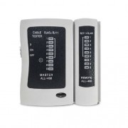 Testador p/ Cabo de Rede, Telefone RJ45 / RJ11 All Tech