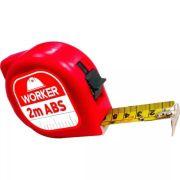 Trena 2M ABS Vermelha Worker
