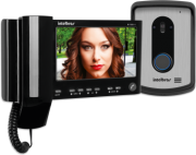 Video Porteiro Iv 7010 Hs (Kit) Preto Intelbras