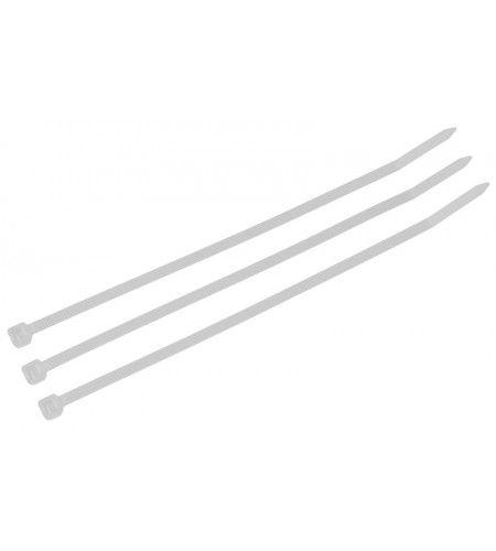 Abracadeira Nylon 3X200MM Branco C/ 100 All Semi  - Eletroinfocia