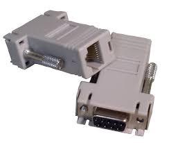 Adaptador DB9 macho p/ RJ45 8P8C
