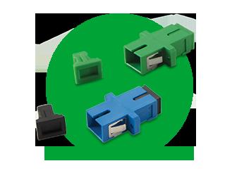 Adaptador Optico Simplex Sc/Upc - Xfa 1 Intelbras  - Eletroinfocia
