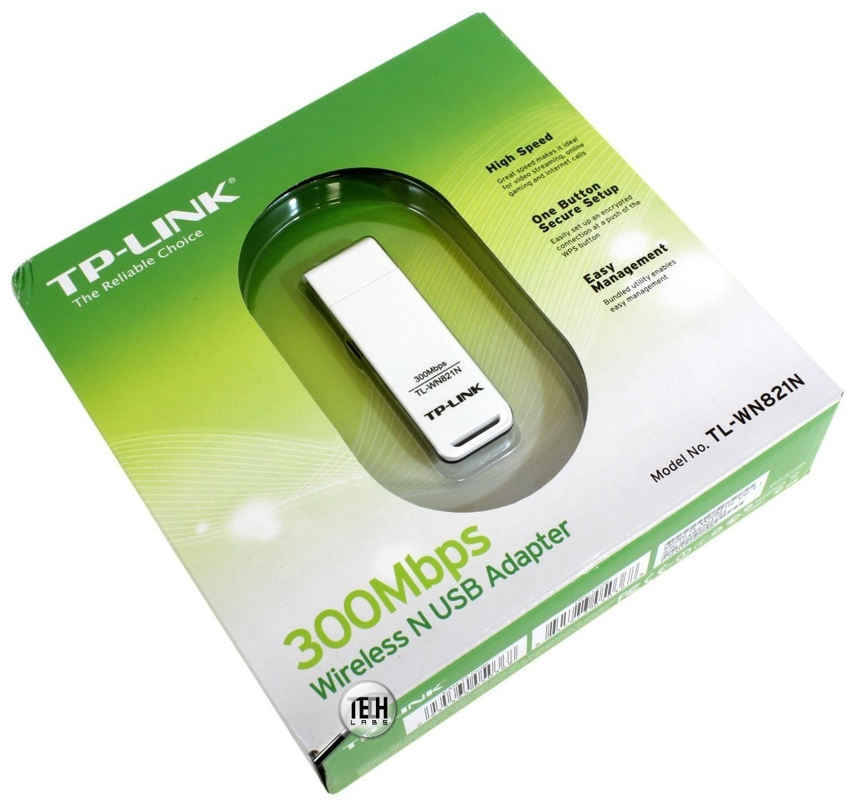 Adaptador Wireless 300MBPS TL-WN821N BR TP-Link