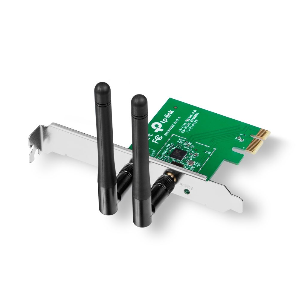 Adaptador Wireless PCI 300Mbps N TL-WN881ND TP-Link   - Eletroinfocia