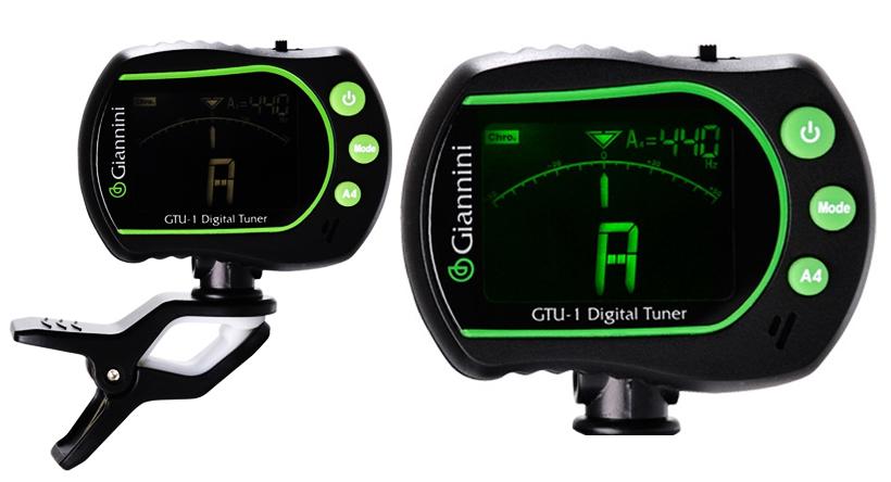 Afinador Digital Cromatico GTU1 Giannini