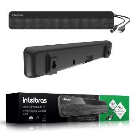 Antena de TV Interna Digital Ampl. UHF/HDTV AI 3101  - Eletroinfocia
