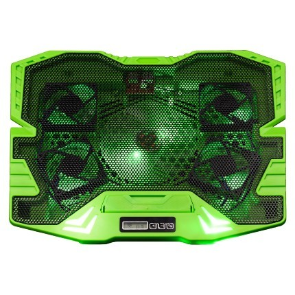 Base Master Cooler Gamer Verde com Led Warrior AC292 Multilaser