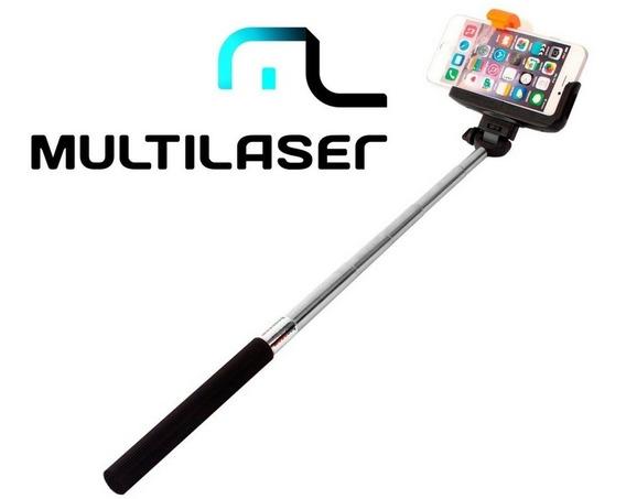 Bastão Selfie Stick Bluetooth P/ Fotos AC271 Multilaser