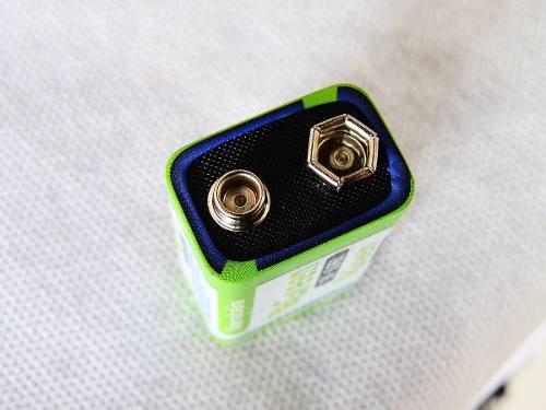 Bateria 9V Alcalina 6LR61 Green  - Eletroinfocia