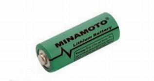 Bateria de Lithium 3V 2400mAh CR 17450 17x45mm Minamoto