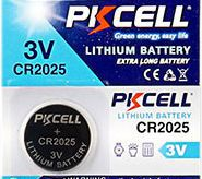 Bateria de Litio 3V CR2025 GLD Unitário