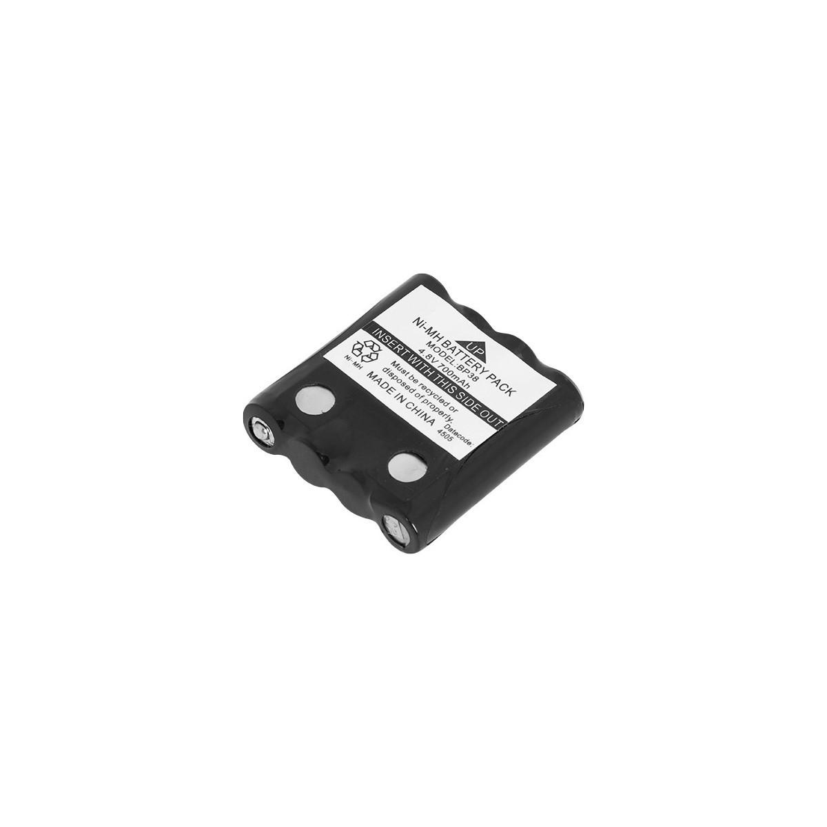 Bateria p/ Radio Motorola / Intelbras Talkabout BP38 4,8V 700mAh 4RT700AAATA-LG Rontek