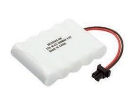 Bateria p/ telefone recarregável 5XAA 6V 600MAH c/ conector universal Rontek