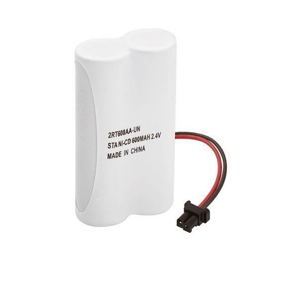 Bateria p/ Telefone s/ Fio 2XAA 600mAh 2,4V(Plug Universal) Rontek