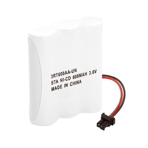 Bateria P/Telefone S/Fio 3xAA 3,6V 600mAh (Conector Universal) Rontek