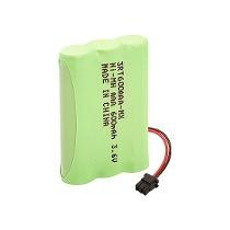 Bateria p/ telefone sem fio 3XAAA 3,6V 600mAh (Conector Universal) RONTEK