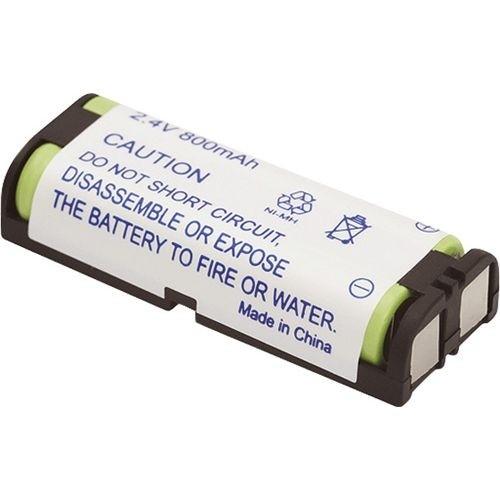 Bateria p/ telefone sem fio Recarregável 800mAh 2,4V C/2 AAA HHR-P105