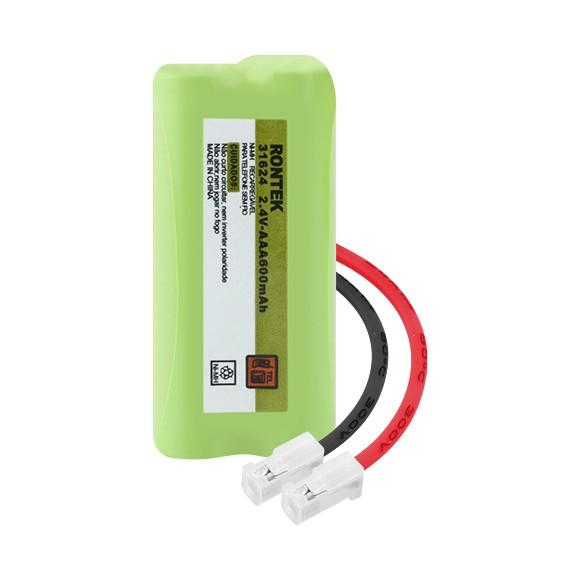 Bateria para Telefone sem fio 2XAAA 2.4V 600MAH NI-MH Rontek