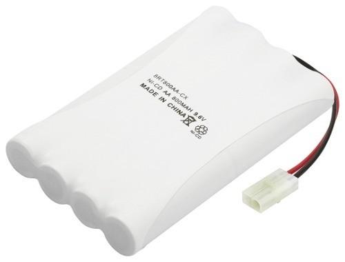 Bateria Recarregável de NiMh 9,6V AA 800mAh 8C Rontek