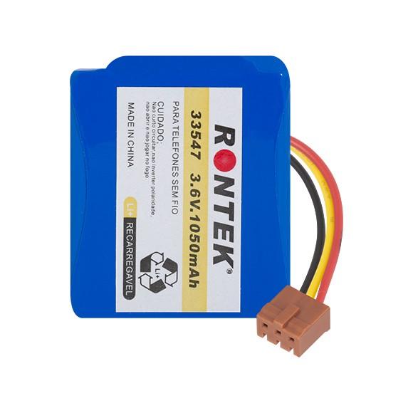 Bateria Recarregável LI-ION 3,7V 1050MAH 55X45X50MM