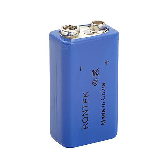 Bateria Recarregavel LI-ION 9V 680MAH 26X18X49MM Rontek
