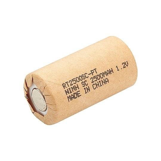 Bateria Recarregável SC 1,2V 2500mAh NICD Rontek