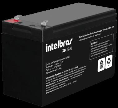 Bateria Vrla 12V - Xb 12 Al Intelbras