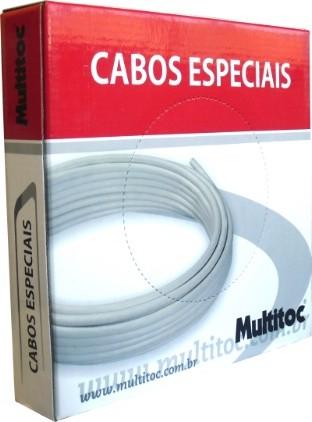 Cabo alarme Manga CA 40X4 vias S/SN 100mts Multitoc