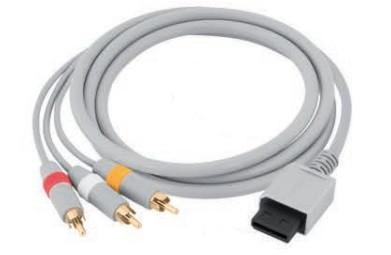Cabo AV p/ Nintendo Wii 85cm Rontek