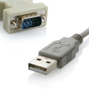 Cabo Conversor USB x SERIAL DB9 (RS232) 1,80Mts WI047 Multilaser