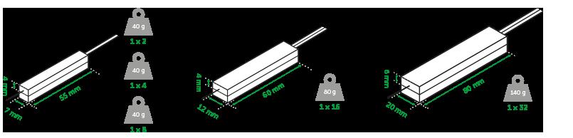 Cabo Óptico com Divisor PLC (Splitter) 1x32 SC/APC XFS 1322 Intelbras  - Eletroinfocia