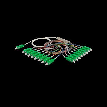 Cabo óptico com divisor plc (splitter) 1x8 sc/upc xfs 181 Intelbras  - Eletroinfocia