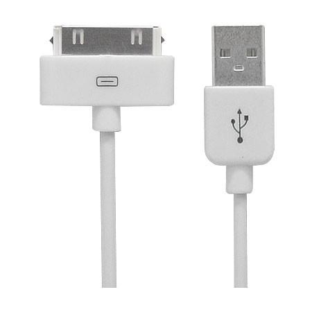 Cabo para Ipad e Iphone 1Mt USB Rontek  - Eletroinfocia