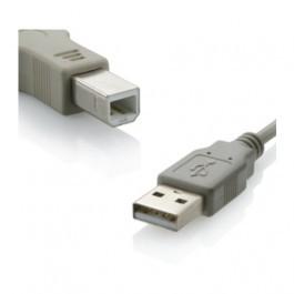 Cabo USB A M X B M V 2.0 3mts Cinza Rontek