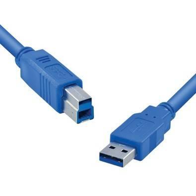Cabo USB A M X B M V 3.0 1,8mts G140.000