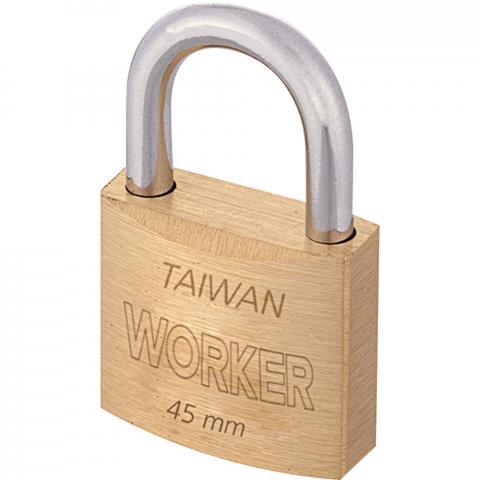 Cadeado 45mm Latão Worker
