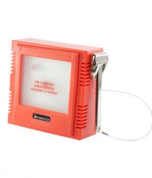 Caixa De Emergencia Quebra Vidro Automatiza  - Eletroinfocia