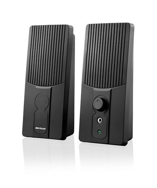 Caixa De Som 2.0 1W RMS Preto USB SP050 Multilaser